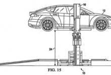 Tesla патентует новую систему для быстрой замены батарей электромобиля
