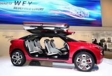 Китайский электрокроссовер WEY XEV – конкурент Tesla Model X от Great Wall