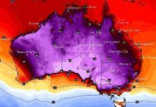 Самый жаркий день в истории зафиксирован в Австралии