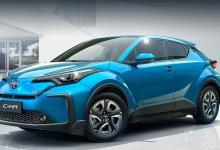 Электромобиль Toyota C-HR представлен в Шанхае, выход в продажу - 2020 год