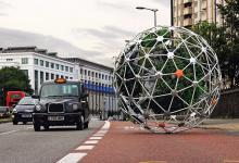 Роботизированный автономный сад путешествует по Лондону