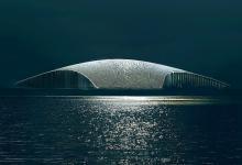 Уникальное здание в форме кита станет еще одной достопримечательностью Норвегии