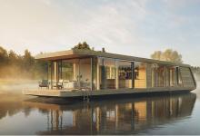 Новый проект плавучих домов обещает полную автономию и мобильность за счет солнечной энергии