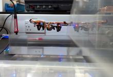 Квадрокоптер без батарей получает энергию по воздуху (видео)