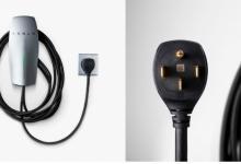 Новое зарядное устройство для электромобилей Tesla можно вставлять в розетку
