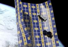 NASA построит сверхтонкие корабли-одеяла для удаления космического мусора с орбиты
