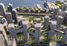 Озелененные крытые мосты объединят небоскребы Orca Toronto