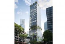 В Сингапуре построят «зеленый» небоскреб с деревьями на фасаде