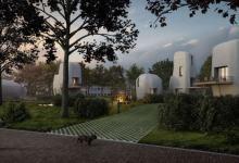 В Голландии из 3D-печатных домов создадут целый микрорайон (видео)