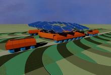 Украинцы создали концепт беспилотного сельхозробота на солнечной энергии (видео)