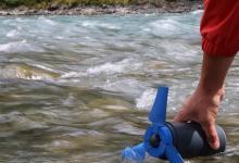 Estream: портативное зарядное в виде водной минитурбины