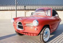 Nobe 100 - трехколесный электромобиль из Эстонии в ретро-стиле выходит в серию (видео)