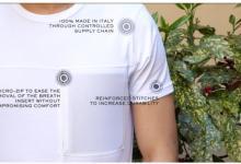 Создана футболка, которая очищает воздух, когда вы ее носите