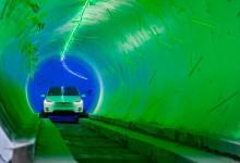Boring Company получила $49 млн на туннель под Лас-Вегасом и показала видео гонки с подземной Model 3