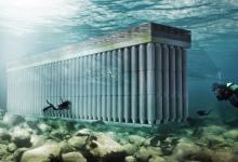 Энергию волн будет собирать подводный «Парфенон»
