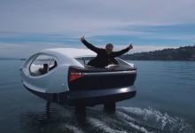 SeaBubbles испытала новую модель судна на подводных крыльях (видео)