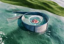 Мини-гидроэлектростанция распечатанная на 3D-принтере разработана бельгийским стартапом Turbulent