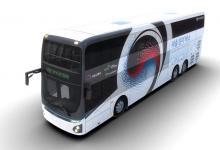 Электрический двухэтажный автобус Hyundai выходит на рынок
