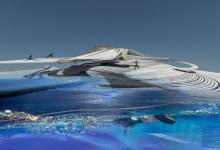 Плавучий эко-курорт соберет отходы из океана