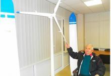 Уникальные безредукторные ветрогенераторы разрабатывает украинский конструктор