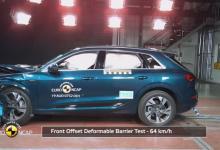 Audi e-tron получил 5 звёзд от Euro NCAP по безопасности, видео краш-тестов