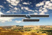 Бесшумный летающий автомобиль с системой махового крыла показан Volerian