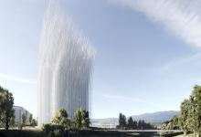 Новая башня будет освещать Кремниевую долину за счет энергии ветра