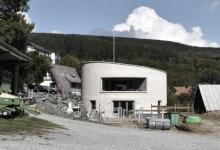 В Германии построили цилиндрический дом Villa F, который производит биогаз для собственных нужд