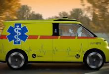 Электромобиль Volkswagen ID. Buzz превратят в беспилотную скорую помощь