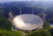 Самый большой в мире радиотелескоп FAST запустили в Китае (видео)