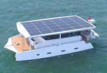 Новая яхта-катамаран на солнечной энергии Aquanima 40 спущена на воду
