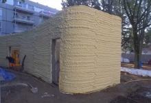 3D-строительство дома с помощью монтажной пены: французский опыт (видео)