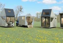 Нано-дом Haaks - передвижное автономное жилище с полным комплектом для комфортной жизни (видео)
