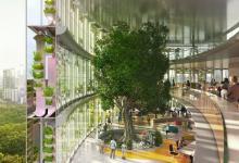 «Фермоскреб» объединит офисную высотку с гидропонным садом для выращивания продуктов питания