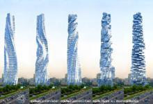 В Дубае строится вращающийся небоскрёб Dynamic Tower