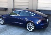 Стоимость электромобиля Tesla Model 3 снизилась из-за прекращения реферальной программы