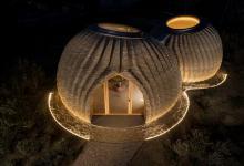 Первый возведенный 3D-принтером глиняный дом TECLA готов