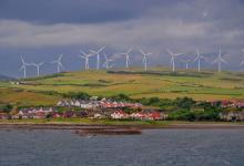 Шотландские ветряки обеспечили энергией страну на 106%