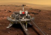 На Марс прибыл первый китайский космический ровер
