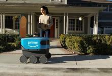 Роботы Amazon Scout выехали на работу по доставке товаров в США (видео)