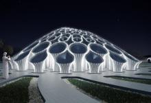 3D-печатный «бетонный лес из солнечных пальм» может стать павильоном Дубая на Expo-2020