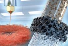 Эффективные фильтры для воды сделали из напечатанного на 3D-принтере аэрографена