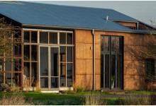 Энергонезависимый дом из конопли оставляет минимальный углеродный след