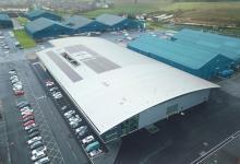 Новая технология солнечных крыш из панелей Kalzip AluPlusSolar применена в Шотландии