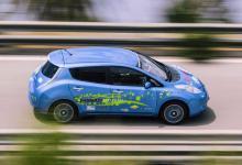 «Гоночный» электромобиль Nissan Leaf получил запас хода на 75% больше