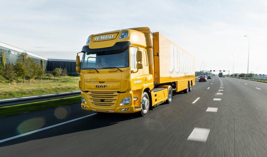 DAF Trucks выпустила первый электрический грузовик