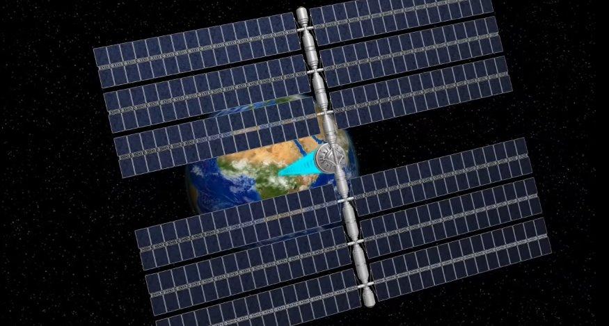 Для создания солнечных электростанций в космосе Китай открывает экспериментальную базу