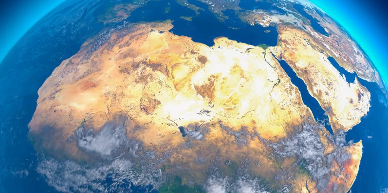Сахара - огромная солнечная станция по выработке