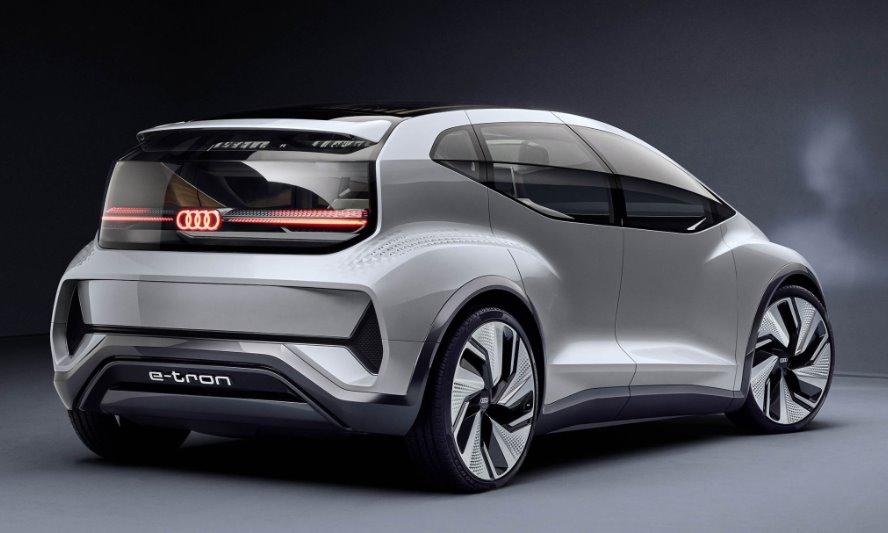 Audi AI:ME - новый «электромобиль будущего» 1