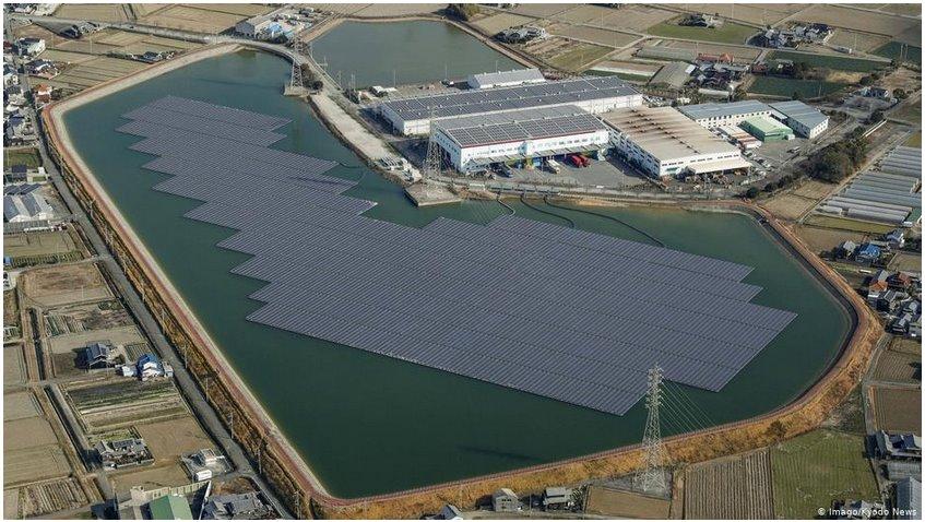 В Литве запускают проект плавучей СЭС на 250 МВт - она утроит общую мощность солнечной энергетики страны